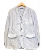 EPOCA UOMO(エポカウォモ)の古着「ナイロンジャケット」|スカイブルー