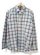 THE NORTH FACE(ザノースフェイス)の古着「チェックシャツ」 ブラウン
