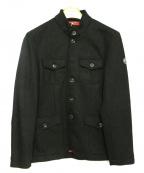 at.p.co(アティピコ)の古着「ウールジャケット」|ネイビー