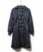 KENZO(ケンゾー)の古着「ダブルブレストダウンコート」|ネイビー