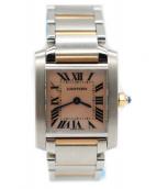 Cartier(カルティエ)の古着「タンクフランセーズSM」|シェル文字盤