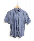 BURBERRY BLACK LABEL(バーバリーブラックレーベル)の古着「半袖シャツ」|ネイビー