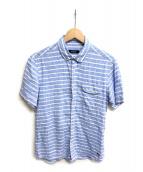 BURBERRY BLACK LABEL(バーバリーブラックレーベル)の古着「半袖シャツ」|サックスブルー