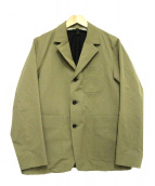 ITTY BITTY(イッティ・ビッティ)の古着「ウールライナージャケット」|オリーブ