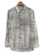 THE VIRIDI-ANNE(ザビリシアン)の古着「長袖シャツ」 ホワイト