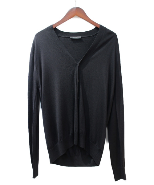 PRADA(プラダ)PRADA (プラダ) ウールカーディガン ブラック サイズ:50の古着・服飾アイテム