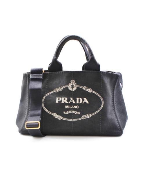 PRADA(プラダ)PRADA (プラダ) カナパ ブラック サイズ:- カナパ ■の古着・服飾アイテム