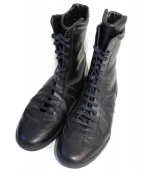 Dior Homme(ディオールオム)の古着「レースアップブーツ」|ブラック