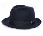 BORSALINO()の古着「ラビットフェルトハット」 ブラック