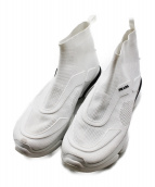 PRADA(プラダ)の古着「CLOUDBUST/ハイトップスニーカー」|ホワイト