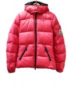 MONCLER(モンクレール)の古着「BADIA/ダウンジャケット」|ピンク