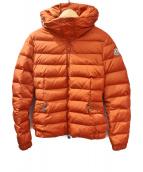 MONCLER(モンクレール)の古着「SANGLIER/ダウンコート」|オレンジ