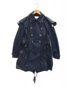 MONCLER(モンクレール)の古着「HINATAナイロンコート」|ネイビー