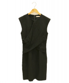 CELINE(セリーヌ)の古着「ノースリーブワンピース」|ブラック