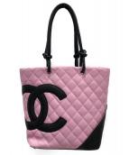 CHANEL(シャネル)の古着「トートバッグ」|ピンク