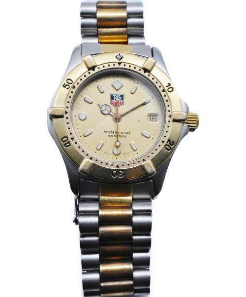 TAG HEUER(タグホイヤー)TAG HEUER (タグホイヤー) プロフェッショナル ゴールド サイズ:- 964.013R クォーツ ステンレススチールの古着・服飾アイテム