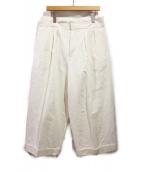 MARNI(マルニ)の古着「ワイドパンツ」|ホワイト
