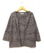 HUGO BOSS(ヒューゴボス)の古着「ニットジャケット」|グレー