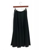 THE ROW(ザ ロウ)の古着「フレア ロングスカート」 ブラック