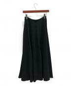 THE ROW(ザ ロウ)の古着「フレア ロングスカート」|ブラック