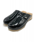 HERMES(エルメス)の古着「サボサンダル」|ブラック