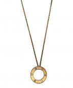 Cartier(カルティエ)の古着「ラブサークルダイヤモンドネックレス」
