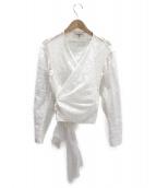 BLAMINK(ブラミンク)の古着「カットワークセットアップ」|ホワイト