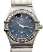 OMEGA(オメガ)の古着「コンステレーション ダイヤベゼル」|ブルー