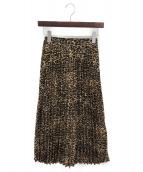 OBLI(オブリー)の古着「プリーツスカート」