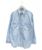 DEUXIEME CLASSE(ドゥーズィエム クラス)の古着「ダンガリーシャツ」|スカイブルー