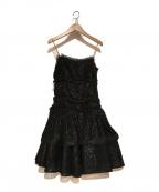 LANVIN(ライバン)の古着「ドレス ワンピース」|ブラック