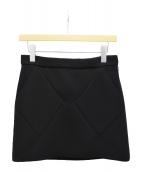BALENCIAGA(バレンシアガ)の古着「BOXスカート」 ブラック