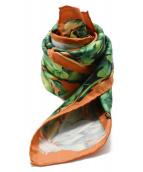GUCCI(グッチ)の古着「シルクスカーフ」|オレンジ