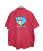 Supreme(シュプリーム)の古着「半袖シャツ」|レッド