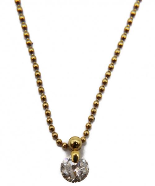 NO BRAND JEWELRY(ノーブランドジュエリー)NO BRAND JEWELRY (ノーブランドジュエリー) ダイヤモンドネックレス サイズ:- K18 ダイヤモンド 1.30ctの古着・服飾アイテム