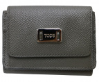 TODS(トッズ)の古着「コンパクトウォレット」|グレー
