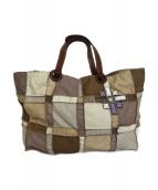 JAMIN PUECH(ジャマンピュエッシュ)の古着「パッチワークトートバッグ」