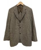 SHIPS(シップス)の古着「LORO PIANA社製テーラードジャケット」|ブラウン