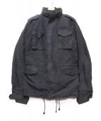 AKM(エイケイエム)の古着「M-65 COLD WEATHERミリタリージャケット」|ブラック
