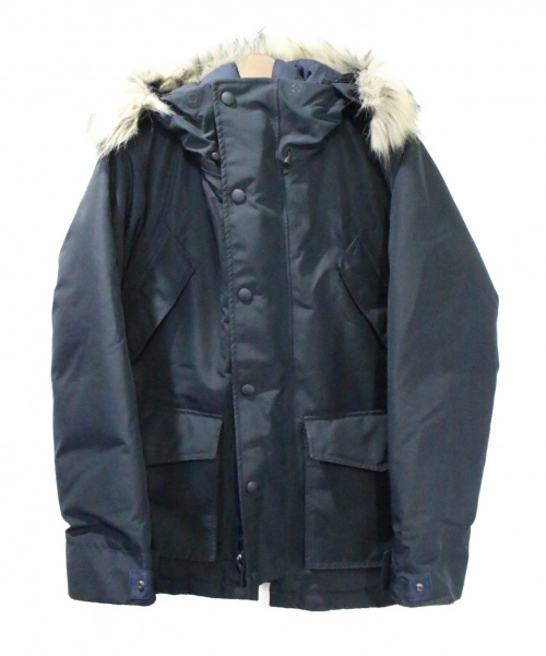 WOOLRICH(ウールリッチ)WOOLRICH (ウールリッチ) GORE TEX ARCTIC DOWN PARKA ネイビー サイズ:Mの古着・服飾アイテム