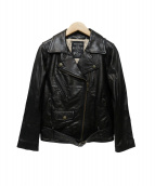 MAISON DE REEFUR(メゾンドリーファー)の古着「レザージャケット」|ブラック
