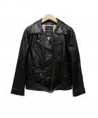 MAISON DE REEFUR(メゾン ド リーファー)の古着「レザージャケット」|ブラック