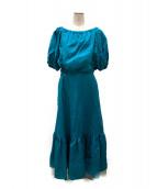 MYLAN(マイラン)の古着「セットアップスカート」|エメラルドグリーン