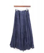 MARIHA(マリハ)の古着「草原の虹のスカート」 ネイビー