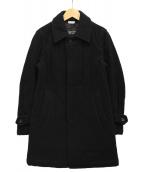 COMME des GARCONS HOMME DEUX(コムデギャルソン オム ドゥ)の古着「メルトンキルティングコート」|ブラック
