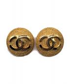 CHANEL(シャネル)の古着「ココマークイヤリング」|ゴールド