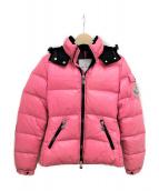 MONCLER(モンクレール)の古着「BADIA」|ピンク
