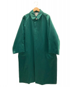 BLAMINK(ブラミンク)の古着「オーバーサイズステンカラーコート」|グリーン