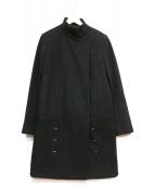 PACO RABANNE(パコラバンヌ)の古着「スタンドカラーロングコート」