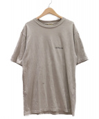 MUSE de Deuxieme Classe(ミューズデドゥーズィエム クラス)の古着「バックプリントTシャツ」|カーキ
